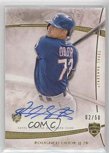 Rougned Odor #2/50 (Baseball Card) 2014 Topps Supreme - Autographs #SA-ROD