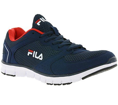 Fila - Zapatillas de gimnasia de Lona para hombre azul turquesa