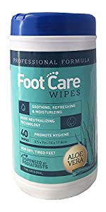 Feet Wipes - Foot Care Wipes for Clean, Fresh, Fancy-Free, Silky-Smooth, Funk-Free Feet by Etiquette