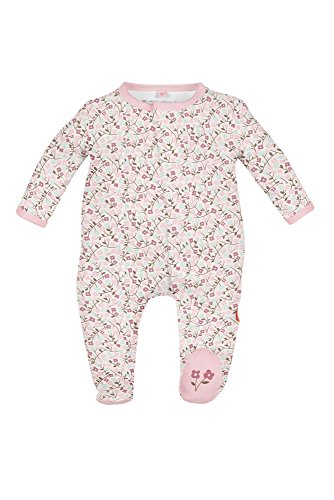 Free Magnificent Baby Girls' Magnetic Floral Footie, Bedford, 6 Months