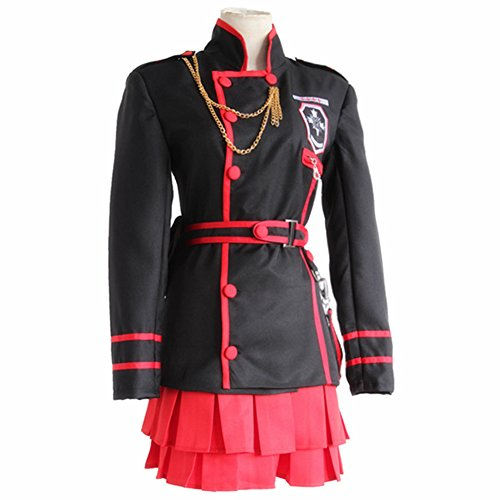 YLMBMEI Girl's Cosplay Japanese Anime exorcism The Black Order Combat Suit Dress,Asian Size S:Bust (Exorcism Girl Costume)