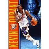 Kevin Durant - Oklahoma City Thunder Basketball Poster