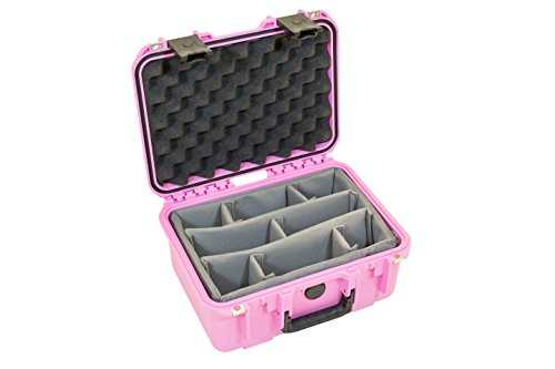 SKB 3i-1309-6P-D Waterproof Case with Dividers, Pink by SKB