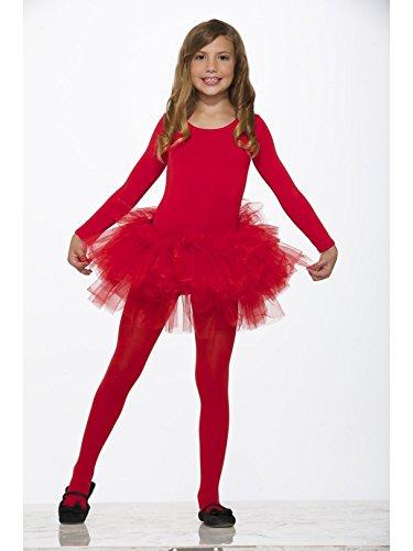 Forum Novelties Child's Fluffy Tutu, Red]()