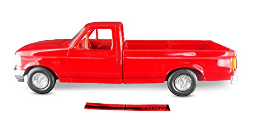 Car Ertl (ERTL AMT 1994 Ford F150 Pickup XLT, 1:25 Scale, Crimson Red. Plastic ERTL Promo Collectors Item.)