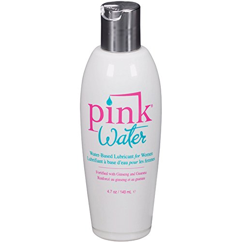 Pink Lube (Pink Water Based Personal Lubricant for Women Purified Water Formulated Long Lasting: Size 4.7 Oz. / 140 Ml)