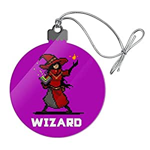 Amazon com: 8-Bit Pixel Retro Wizard Mage Caster Games RPG