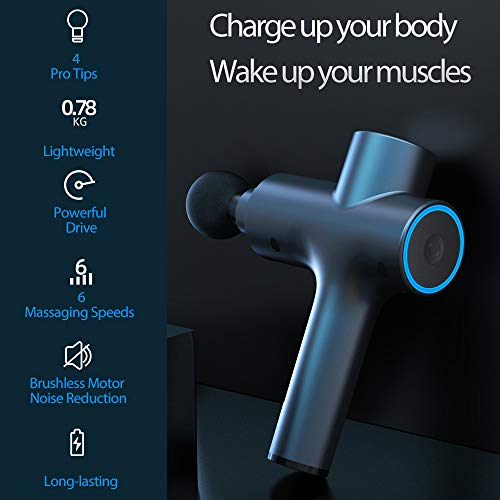 Electronic Massage Deep Tissue Muscle Massage Gun …