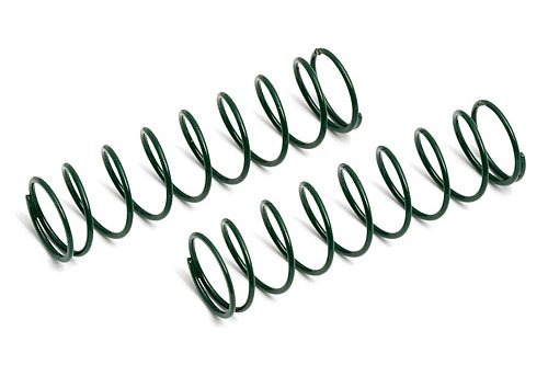 Team Associated 7427 Front Truck Springs, Green, 2.9-Pound
