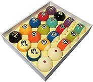 Lingyuan Billiard Balls Pool Balls Billiards Balls Set Phenolic Resin Game Billiards
