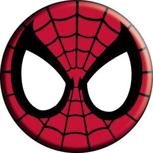 Spiderman - Spidey Mask -- Button