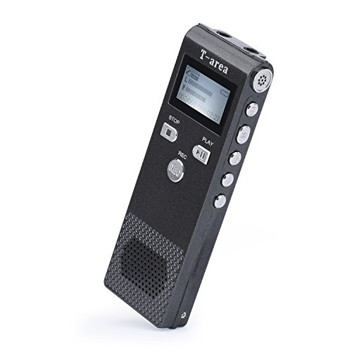 Digital Voice Recorder Pen Voice Activated Recorder 8GB Sound Audio Recorder Portable Mp3 Player Wireless HD Telephone Recorder Double Microphone For Meetings,Lectures, Interview, By T-area (Password Management Best Practices)