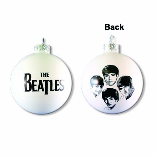 The Beatles Hand-Crafted Glass Christmas Ornament - Extremely Limited