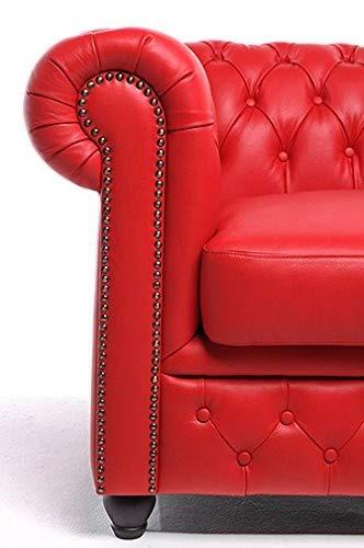 The Chesterfield Brand -Sofá Chester Brighton Rojo - 2 ...