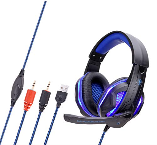 LED Glowing Game Headset