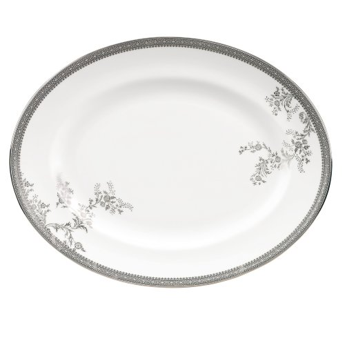 Wedgwood Vera Wang Vera Lace Gold 9-Inch Accent Salad Plate by Wedgwood