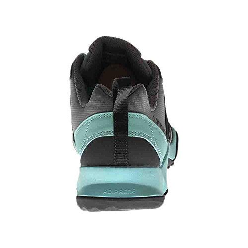 adidas Outdoor Terrex AX2R Wanderschuh - Damen Ch Solid Grau / Dgh Solid Grau / Klar Aqua