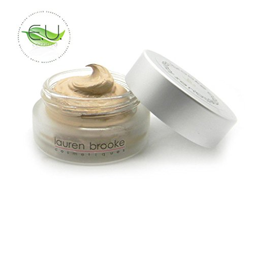 Lauren Brooke Cosmetiques Creme Foundation Natural and Organic Makeup (Neutral No. 20)