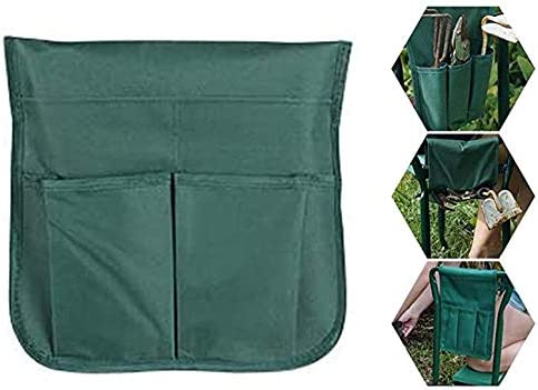 Dušial 2 PCS Tool Side Bag Pockets Pouch for Garden Bench Garden Kneeler Stools Gardening Werkzeug Seitentasche Taschen Tasche für Gartenbank Garten Knieschoner Gartenarbeit