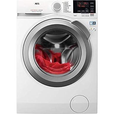 AEG L6FB64470 Waschmaschine Frontlader / 157,0 kWh/Jahr / Weiß / Waschautomat mit Mengenautomatik / Schutz für edle Textilien
