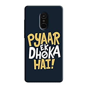 Cover It Up - Love Betrays Redmi Note 5 Hard Case