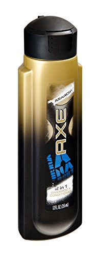 Axe 2-in-1 Shampoo and Conditioner, Anarchy for Him, 12 Ounc
