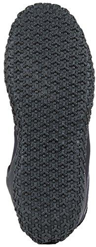 NeoSport Wetsuits Premium Neoprene 5mm Hi Top Zipper Boot, Black, 10 - Water Shoes, Surfing & Diving