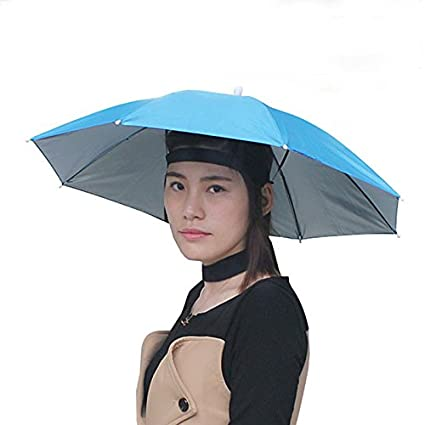 Amazon.com   Inoutdoorkit UH26 Umbrella Hat 9c0282f0f87