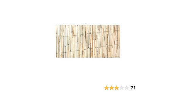 Jardin202 1x5m - Cañizo Natural Bambufino | Seleccione LA Medida| Varias Medidas