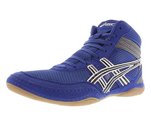 ASICS Men's Matflex 3 Wrestling Shoe,Royal/Black/Silver,13 M US