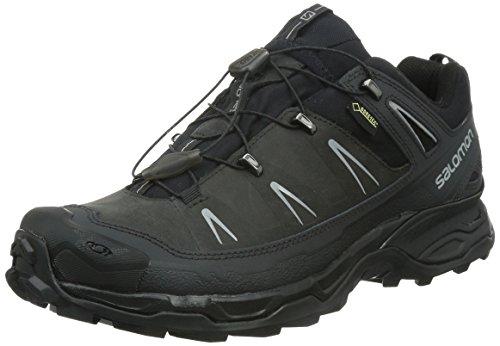 Salomon X Ultra LTR GTX, Herren Trekking- & Wanderhalbschuhe, Grau (Asphalt/Black/Pewter), 43 1/3 EU (9 Herren UK)