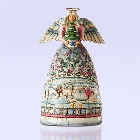 Jim Shore Mini Winter Angel Figurine 4006723