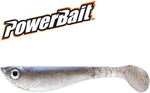 Berkley Power Bait Pulse Shad caoutchouc poisson 11/cm Pearl Blue Set de 3/pi/èces.
