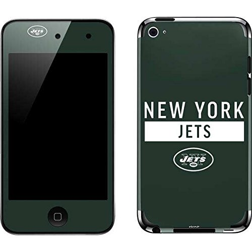 Skinit NFL New York Jets iPod Touch (4th Gen) Skin - New York Jets Green Performance Series Design - Ultra Thin, Lightweight Vinyl Decal Protection (York Ipod Jets New Skin)