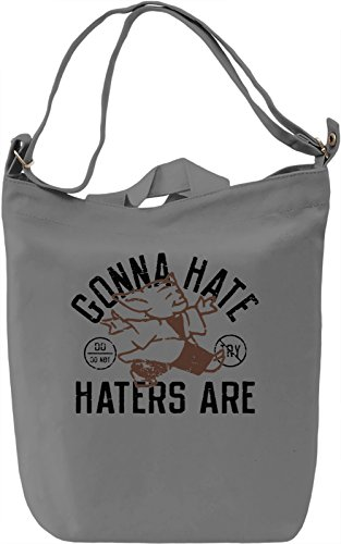 Gonna Hate Hatters Are Borsa Giornaliera Canvas Canvas Day Bag| 100% Premium Cotton Canvas| DTG Printing|