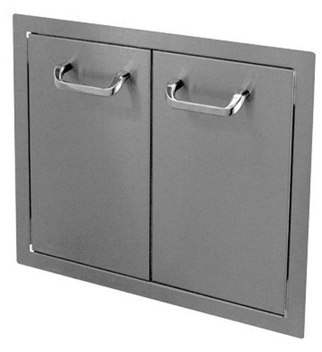 HBI 24DD-STD Hasty-Bake Stainless Steel Standard Double Access Doors, 24-Inch by Hasty-Bake