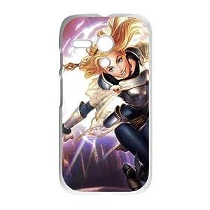 Motorola G Cell Phone Case White League of Legends Lux 0 LWY3584533KSL