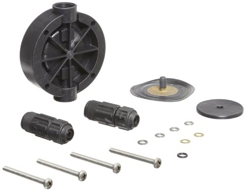 Pulsafeeder K6KTC3 Pump Repair Kit, Pulsatron, Includes Head, Diaphragm, Suction And Discharge Valves, Screws And Washers by Pulsafeeder