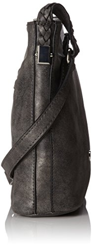 8x24x25 cm Body Cross Shoulderbag Weber Woven Grau Hands H B Gerry Mvz x Dark Womens Bag T Grey qY07xnYw