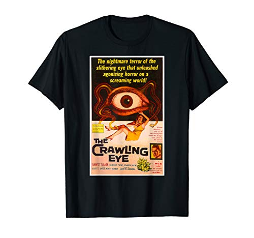 Crawling Eye Halloween T-Shirt Horror Sci Fi Tee Shirt ()