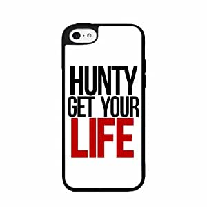 Hunty Get Your Life Case Back Cover (iPhone 5c Black - Plastic)