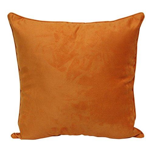 Faux Suede Original Bed - Brentwood Originals Faux Suede Pillow, 18