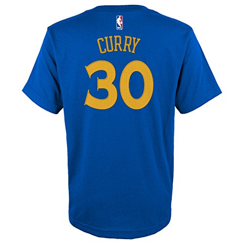 Stephen Curry Golden State Warriors Adidas Youth Boys Blue G