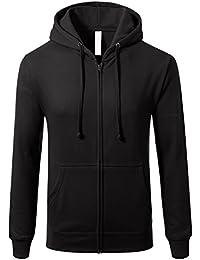 "<span class=""a-offscreen"">[Sponsored]</span>Men's Triblend Hipster Fleece Full Zip Up With Kanga Pocket Hoodies"