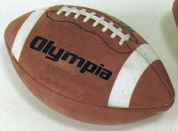 Olympia Composite Leather Tackified Football - Intermediate / Youth Size (Set of (Olympia Kids Football)