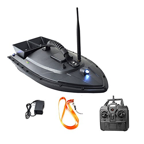Meknic Fish Finder 2kg Bait Loading 2pcs Tanks with Double Motors 500M Remote Control Sea RC Fishing Bait Boat