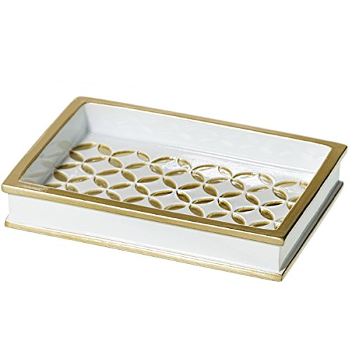 Diamond Lattice Soap Dish for Bathroom (5.3