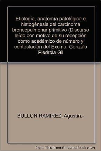 Etiología, anatomía patológica e histogénesis del carcinoma ...