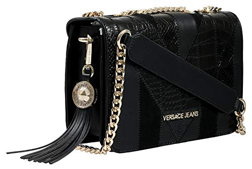 Versace EE1VSBBP1 E899 Black Shoulder Bag for Womens for sale  Delivered anywhere in USA