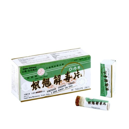 SOLSTICE MEDICINE COMPANY Yinchiao Chieh Tu Pien Cold & Flu 96 Tablets, 0.02 - Service Customer Solstice